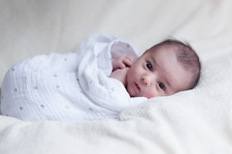 Newborn photography in your home